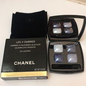Chanel Eyeshadow # 29 Lagons 4 color